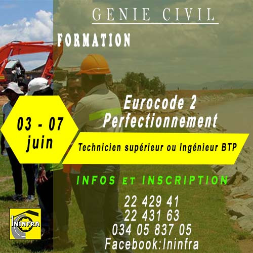 formation eurocode 2 perfectionnement ininfra