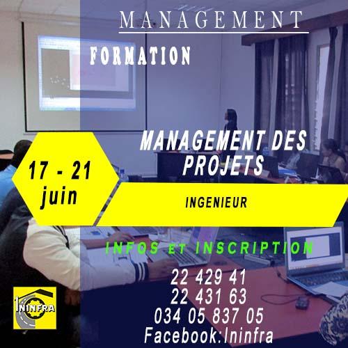 formation management des projets ininfra